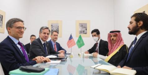 وزير الخارجية السعودي وبلينكن