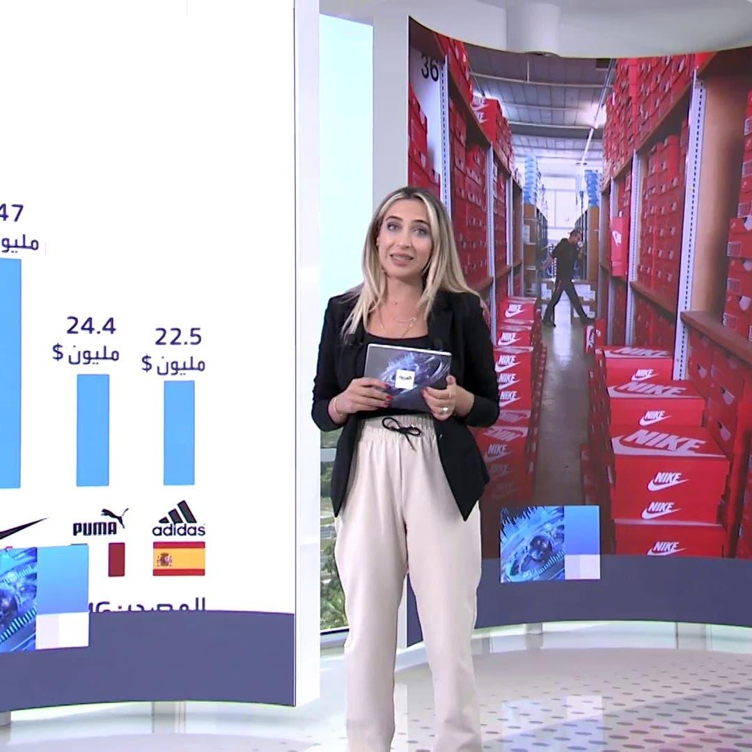 كم يبلغ حجم سوق الملابس الرياضية عالمياً؟