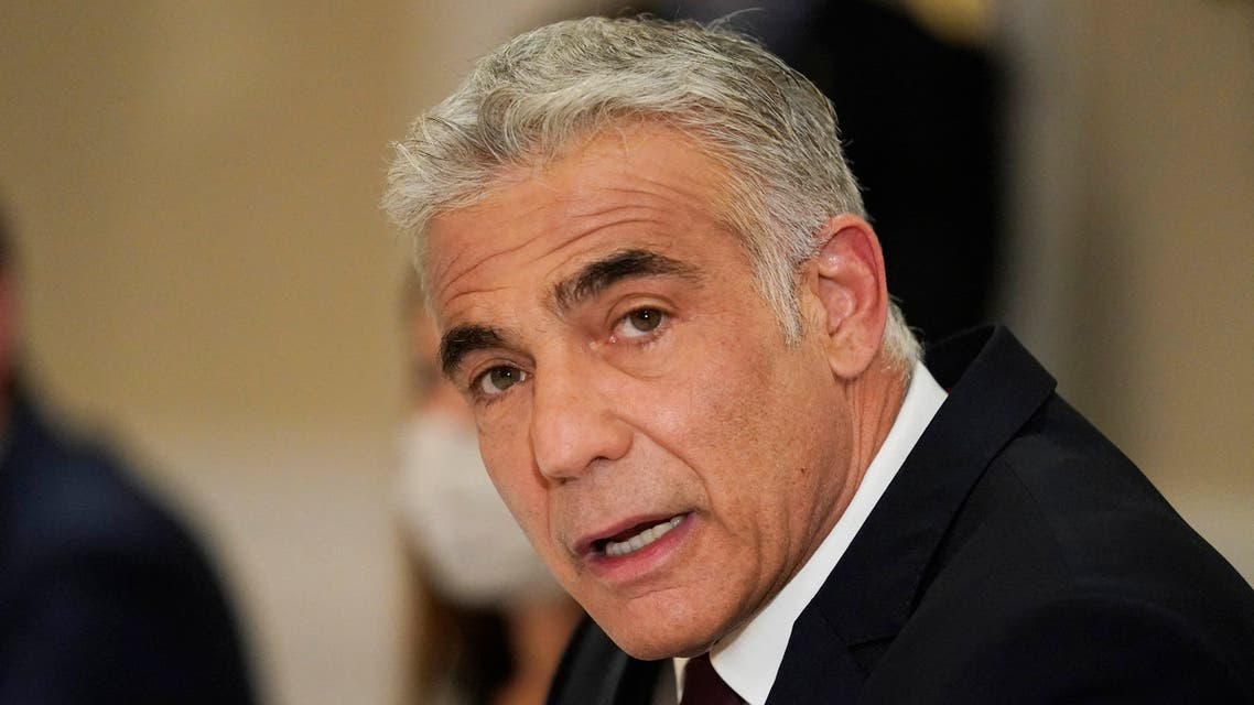وزير الخارجية الإسرائيلي، يائير لابيد(أرشيفية- فرانس برس)ش