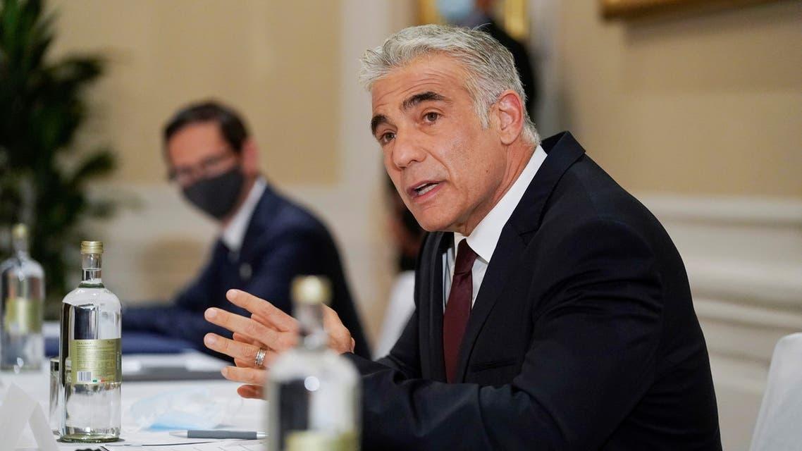 وزير الخارجية الإسرائيلي، يائير لابيد(أرشيفية- رويترز)