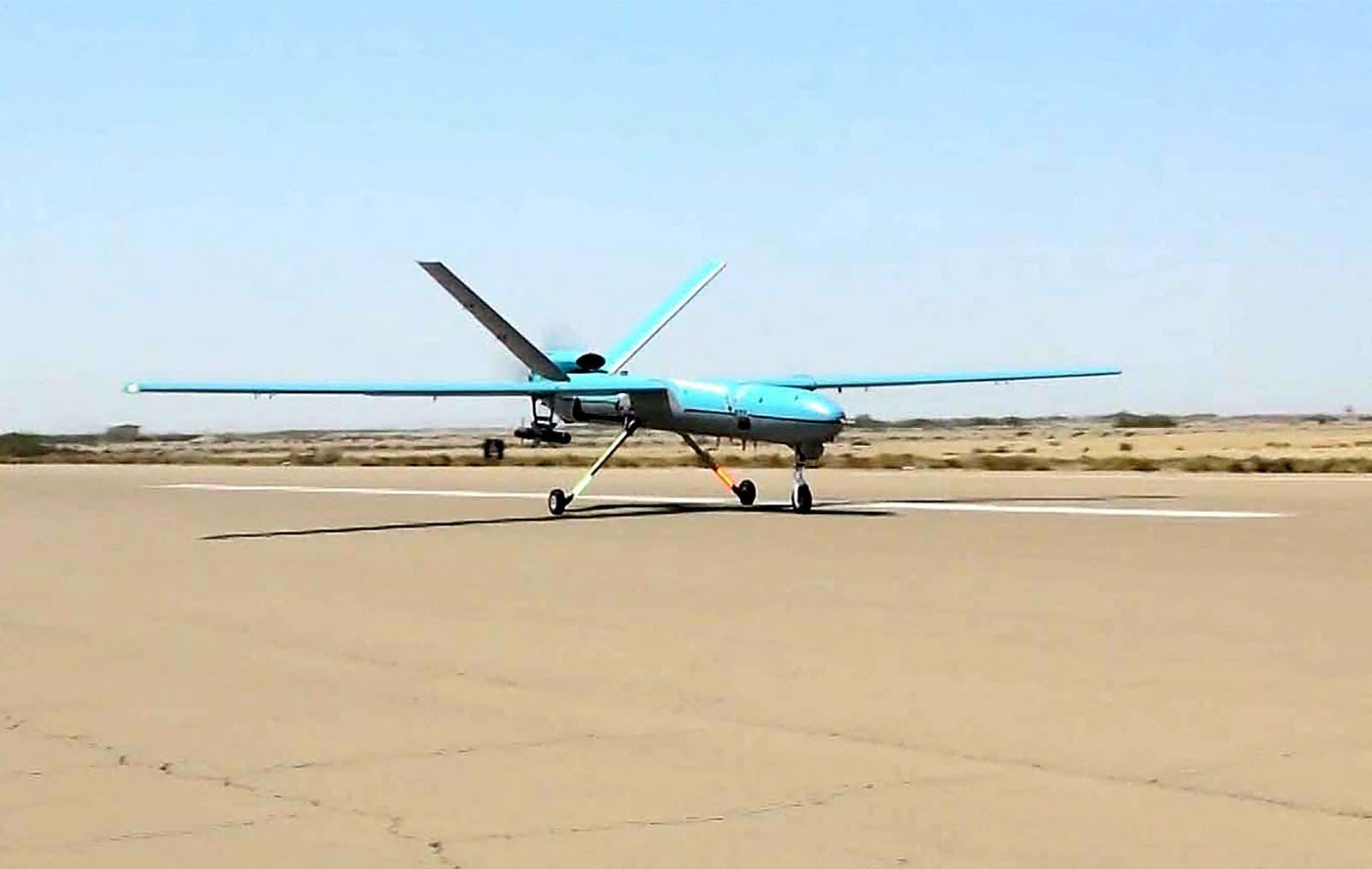 طائرة بدون طيار إيرانية الصنع (أرشيفية-)