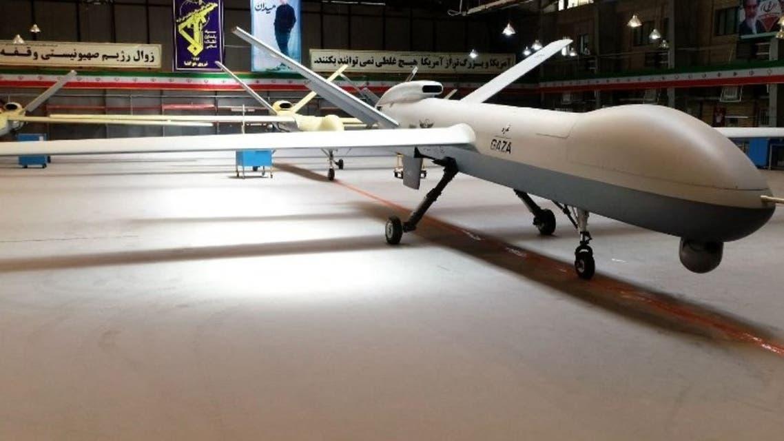 طائرة بدون طيار إيرانية الصنع (أرشيفية- فرانس برس)