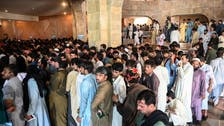 Pakistan workers looking to travel to Saudi Arabia flood Islamabad vaccine center