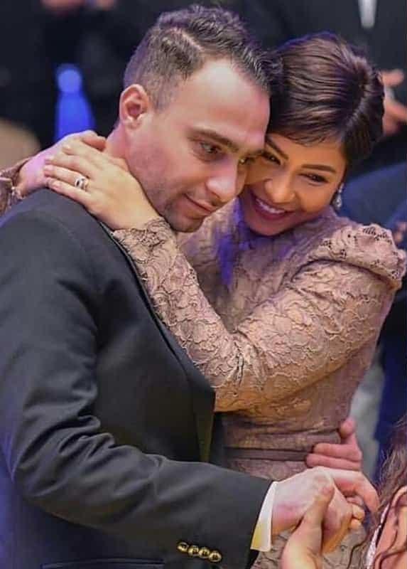 شيرين وزوجها حسام حبيب