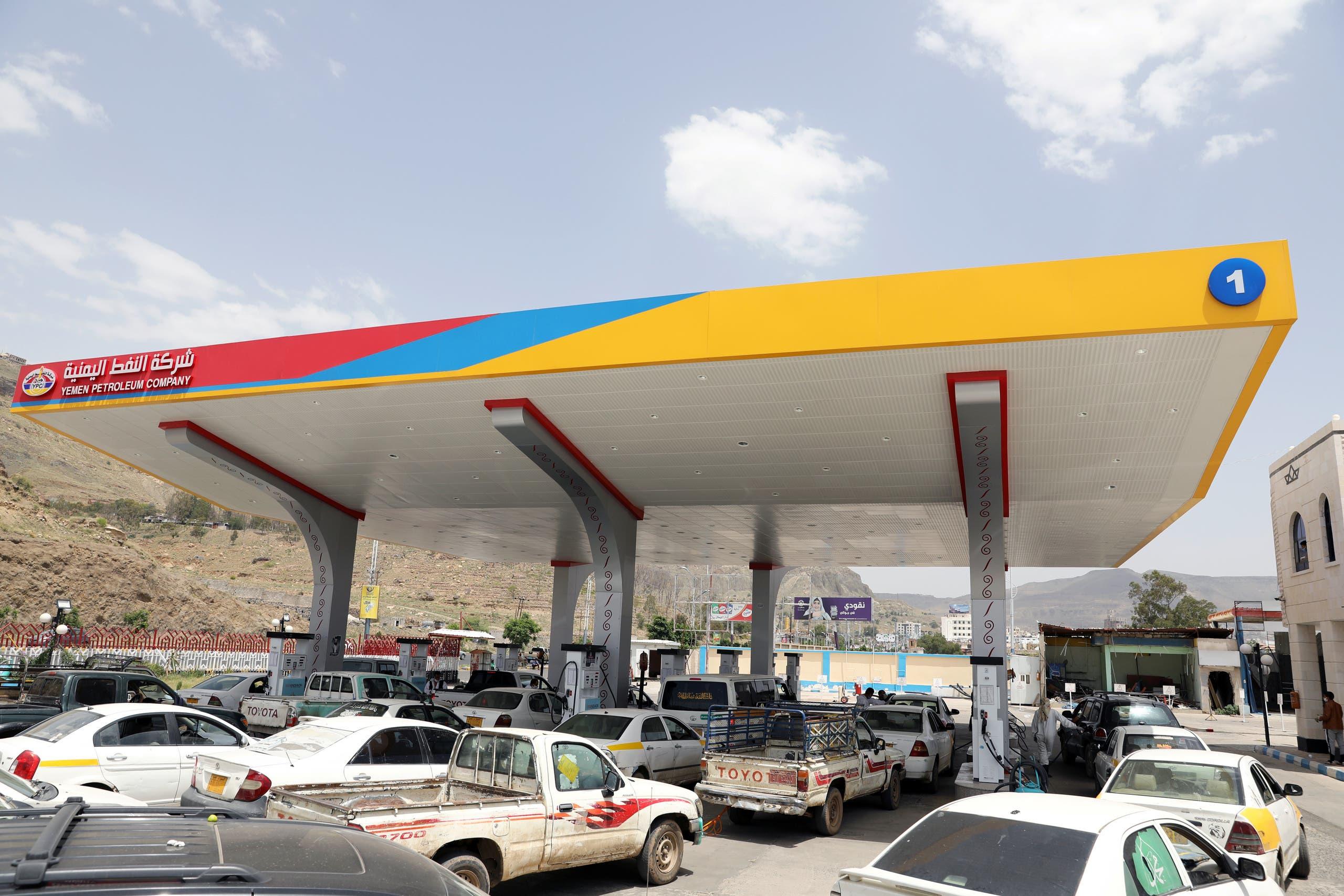 أزمة وقود في صنعاء في 2020 (أرشيفية)