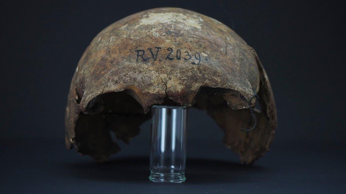بقايا جمجمة الصياد (فرانس برس)