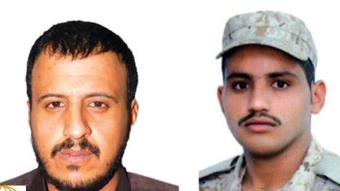 رجل الأمن عبدالله بن ناصر الرشيدي والداعشي هايل العطوي