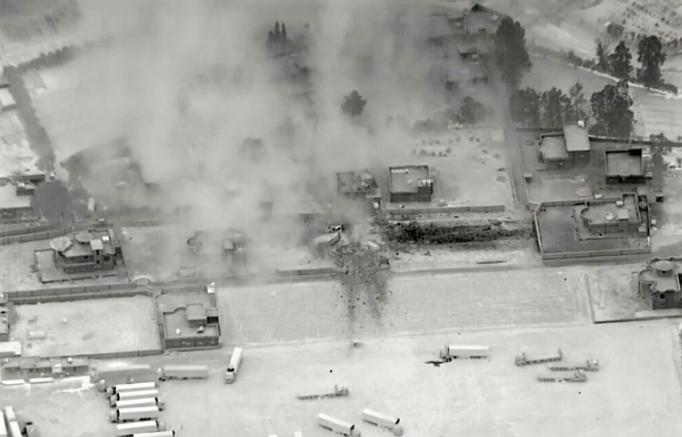 عراق اور شام کی سرحدی علاقوں پر امریکی حملے