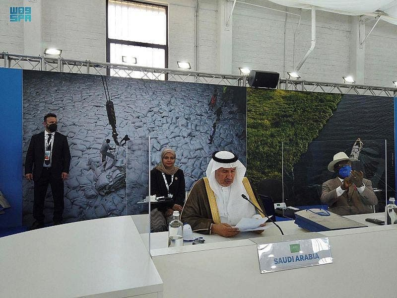 The Supervisor General of King Salman Humanitarian Aid and Relief Centre (KSrelief), Dr. Abdullah al-Rabeeah in a G20 Ministerial Event cohosted by the Italian Ministry of Foreign Affairs and the World Food Programme (WFP) at the UN Headquarters in Brindisi, Italy. (SPA)