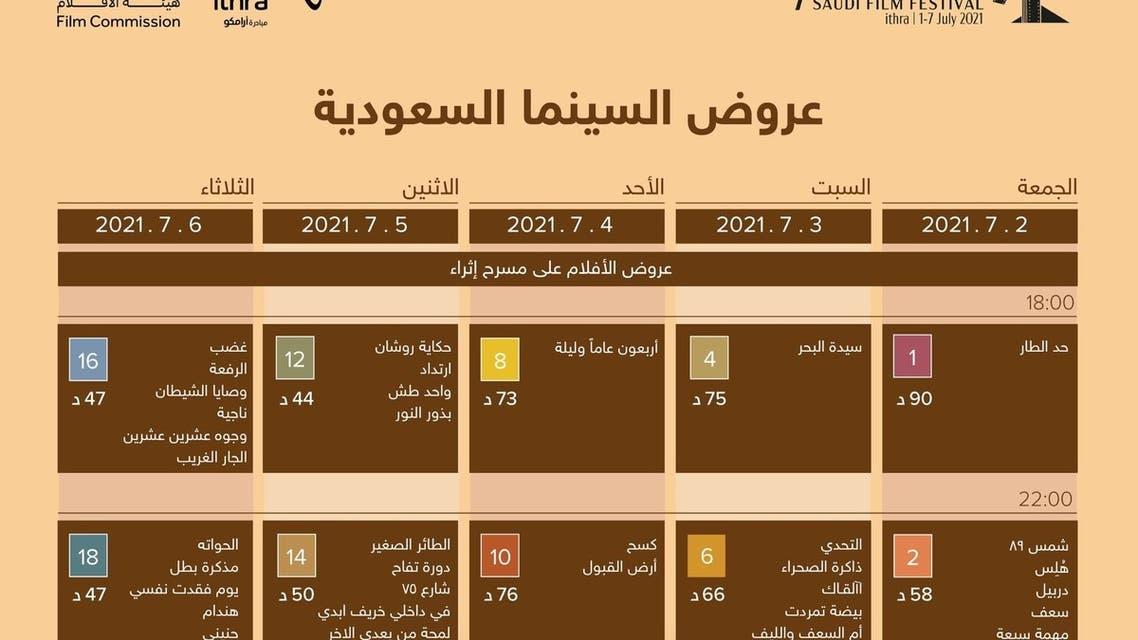 مهرجان الأفلام السعودية