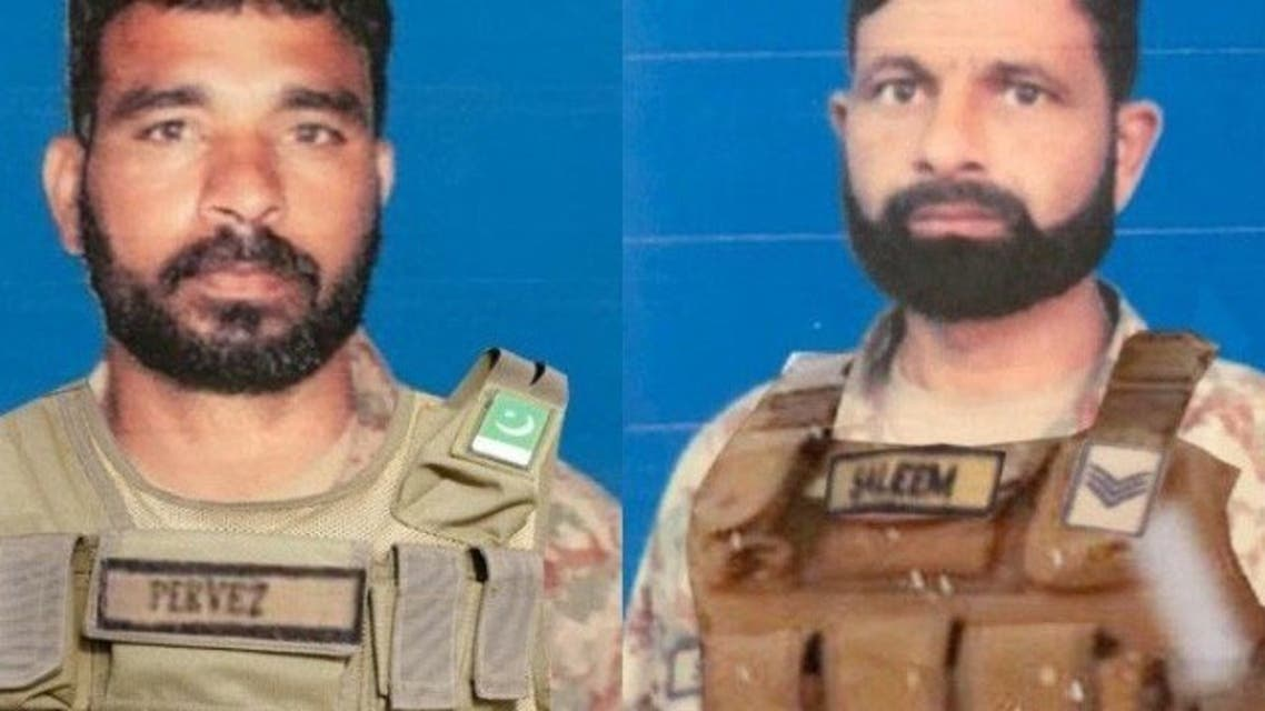 Terrorist firing from Afghan border, 2 young martyrs: ISPR