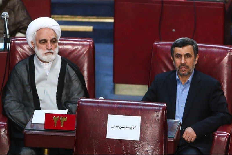 محمود احمدینژاد و محسنی اژهای