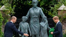 Princes William, Harry put aside differences and unveil Princess Diana's statue