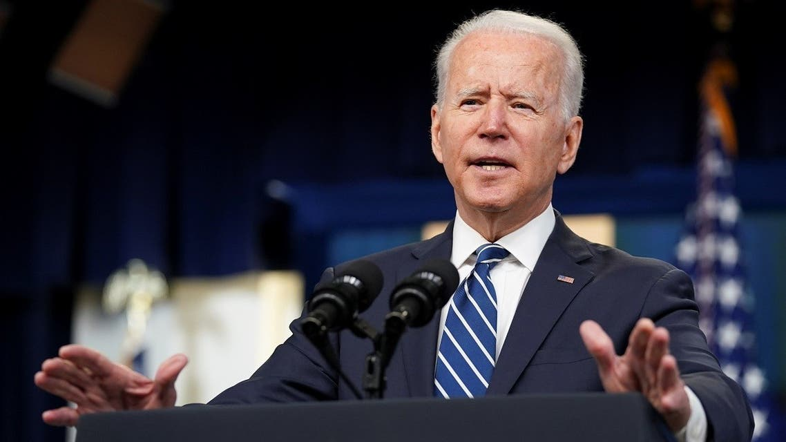 President Joe Biden delivers remarks at the White House, July 2, 2021. (Reuters)