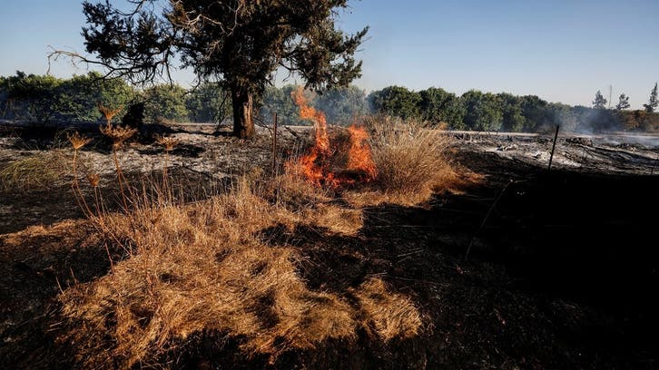 Pro-Hamas activists launch incendiary balloons from Gaza into Israel