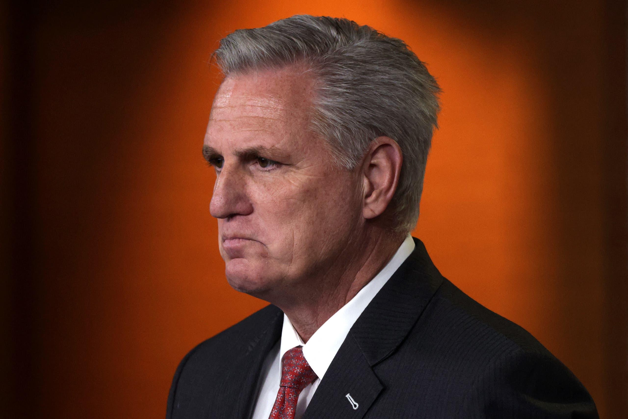 زعيم الأقلية الجمهورية في مجلس النواب كيفن مكارثي