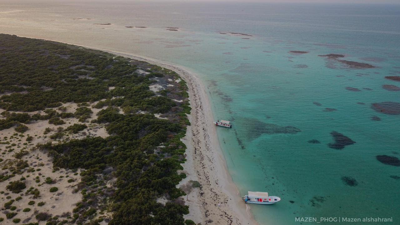 الشواطئ البكر في جزيرة ماركا