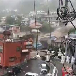 19 مفقوداً.. انهيار طيني ضخم يجرف منازل غرب طوكيو