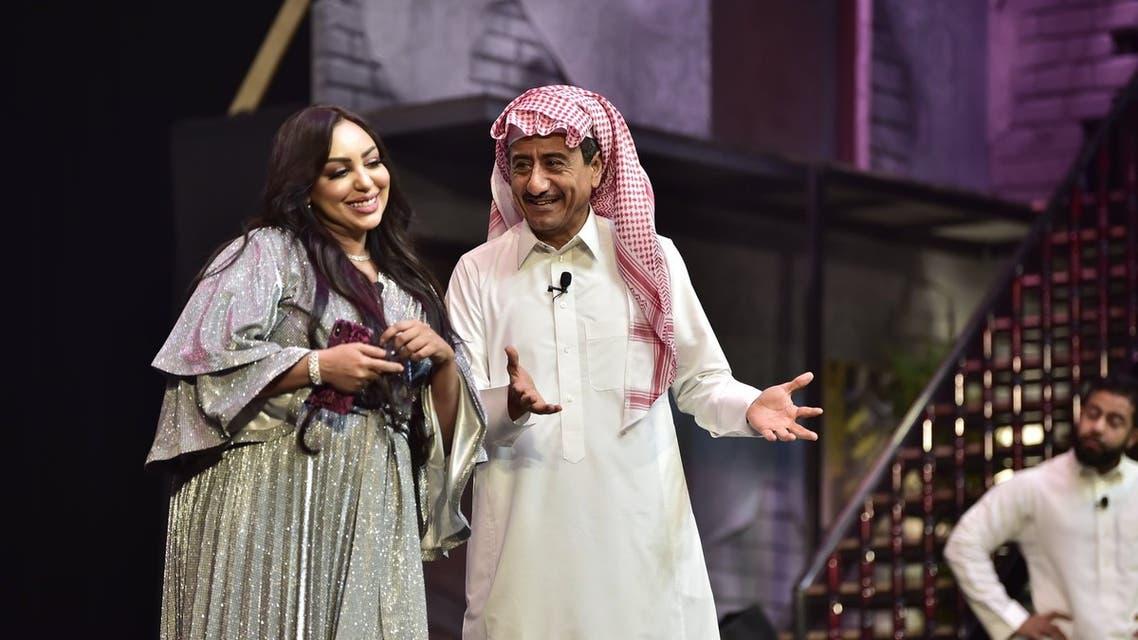من . مسرحية  الذيب في الجليب   في موسم الرياض الأول