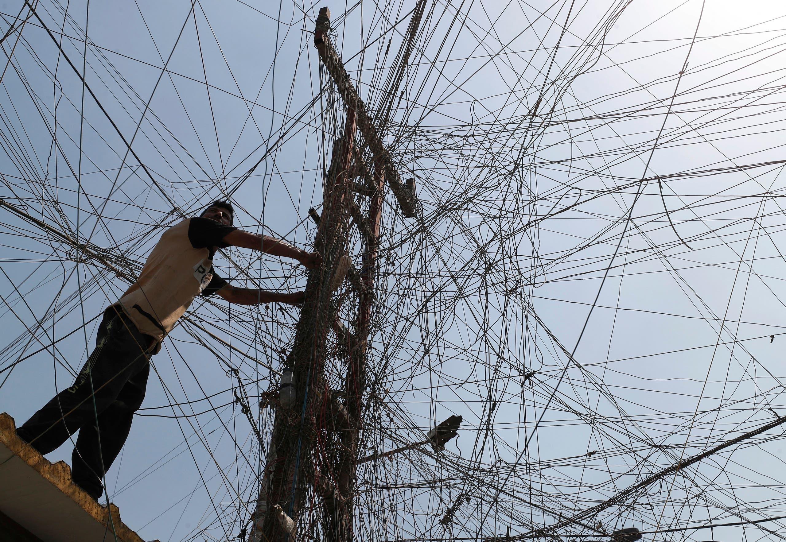 أزمة الكهرباء في العراق (فرانس برس)