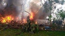 فلپائن:فضائیہ کا سی 130طیارہ حادثے کا شکار؛45 افراد ہلاک،49 فوجیوں کو بچالیا گیا