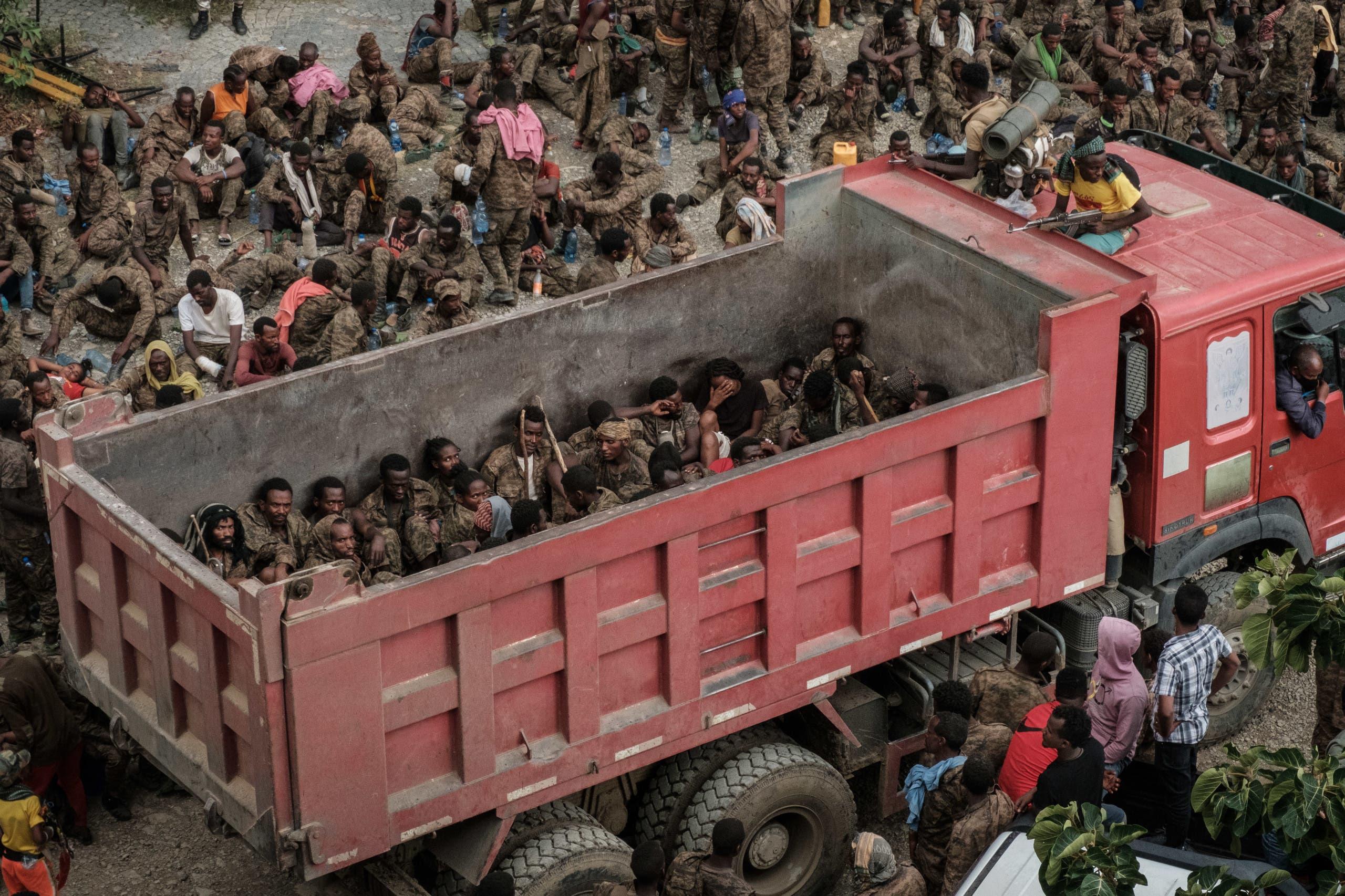 جيش من الأسرى في تيغراي (فرانس برس)