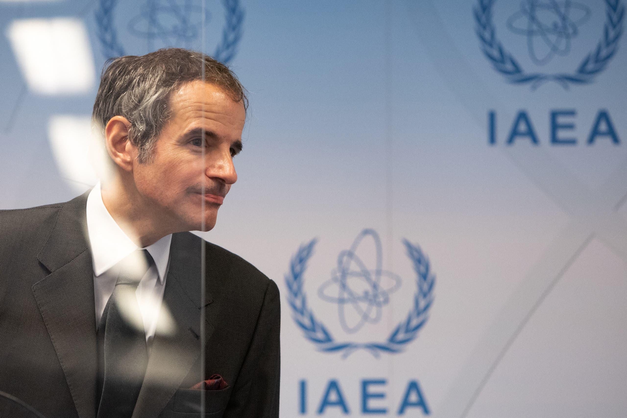 مدير الوكالة الدولية للطاقة الذرية رافييل غروسني (فرانس برس)