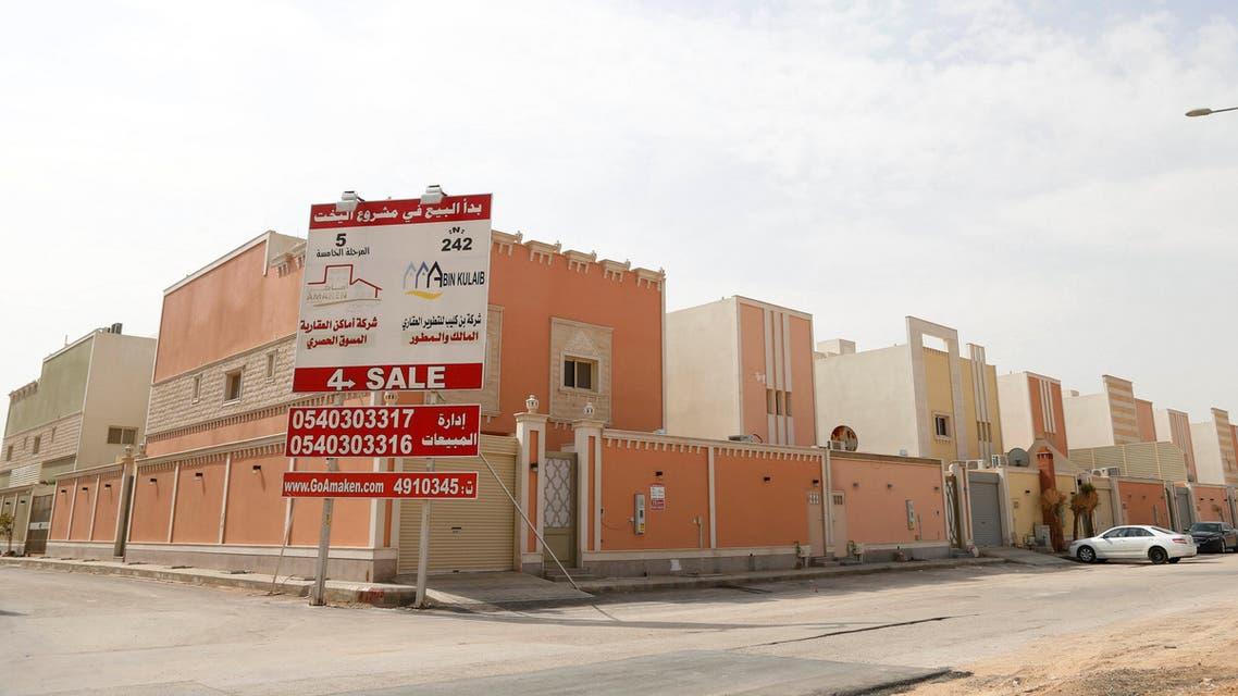 Villas for sale are seen in Riyadh, Saudi Arabia, March 1, 2017. (Reuters)