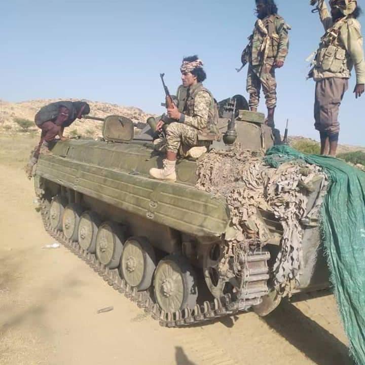 الجيش اليمني: خسائر وانهيار بصفوف الحوثيين شرق وغرب البيضاء