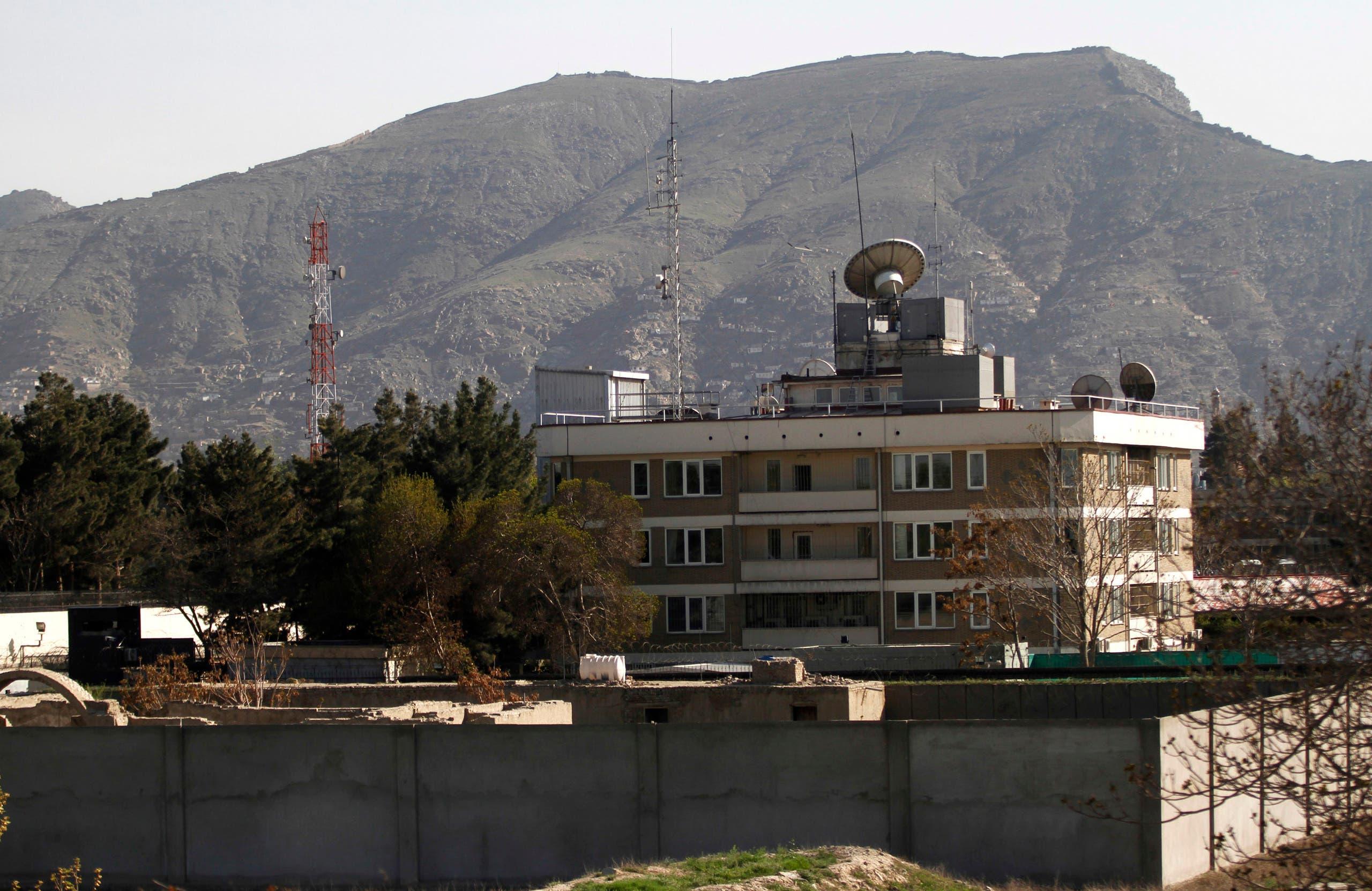 السفارة الأميركية في كابول (رويترز)