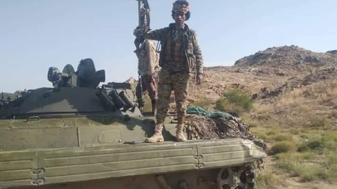 عناصر من الجيش اليمني في البيضاء