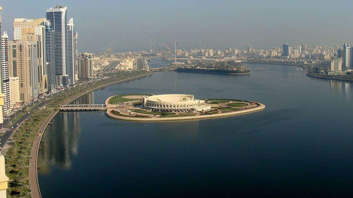 A view of the Buheirah Corniche in Sharjah, United Arab Emirates on February 5 2018. (Paasiviki)