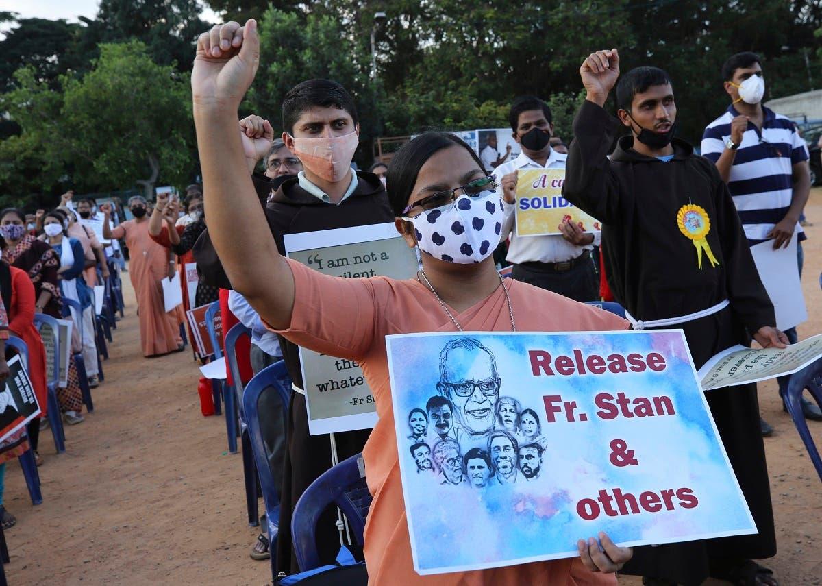 , Indian activist Stan Swamy, 84, jailed under terror law dies