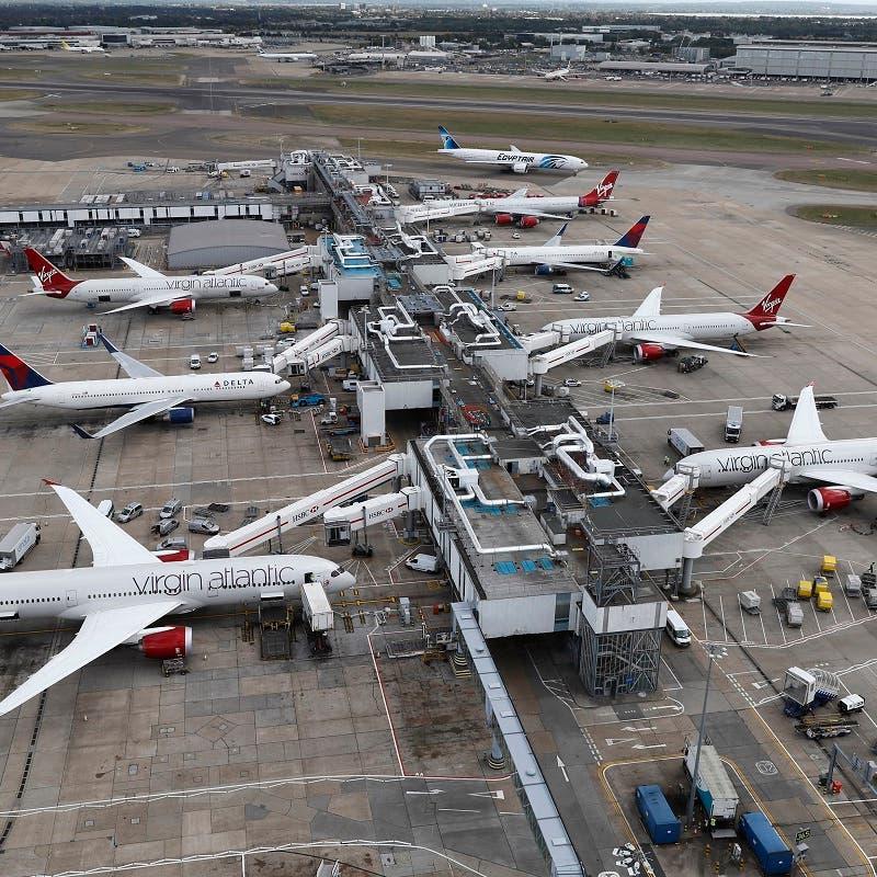 المسافرون عبر مطار هيثرو البريطاني يسجلون أعلى مستوى منذ بدء الجائحة