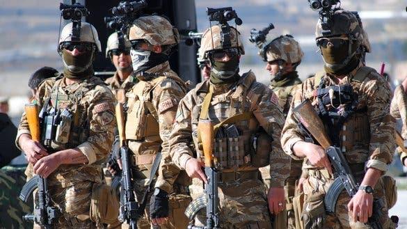 سربازان ویژه افغانستان