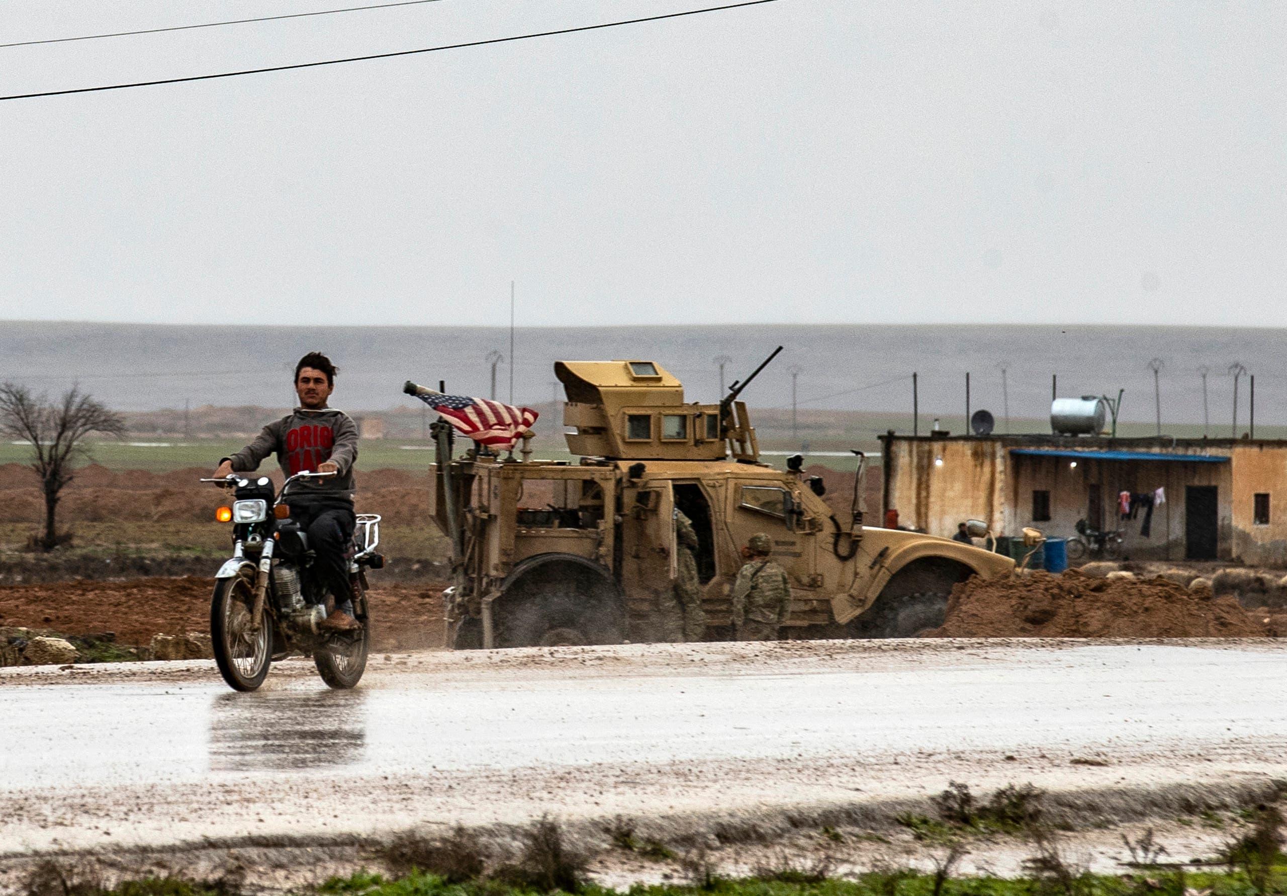 قوات أميركية في شرق  سوريا (أرشيفية- فرانس برس)
