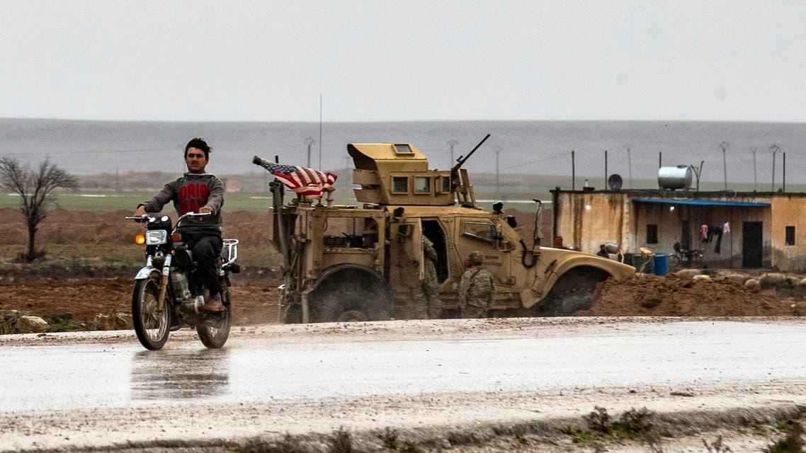 قوات أميركية يف شرق  سوريا (أرشيفية- فرانس برس)