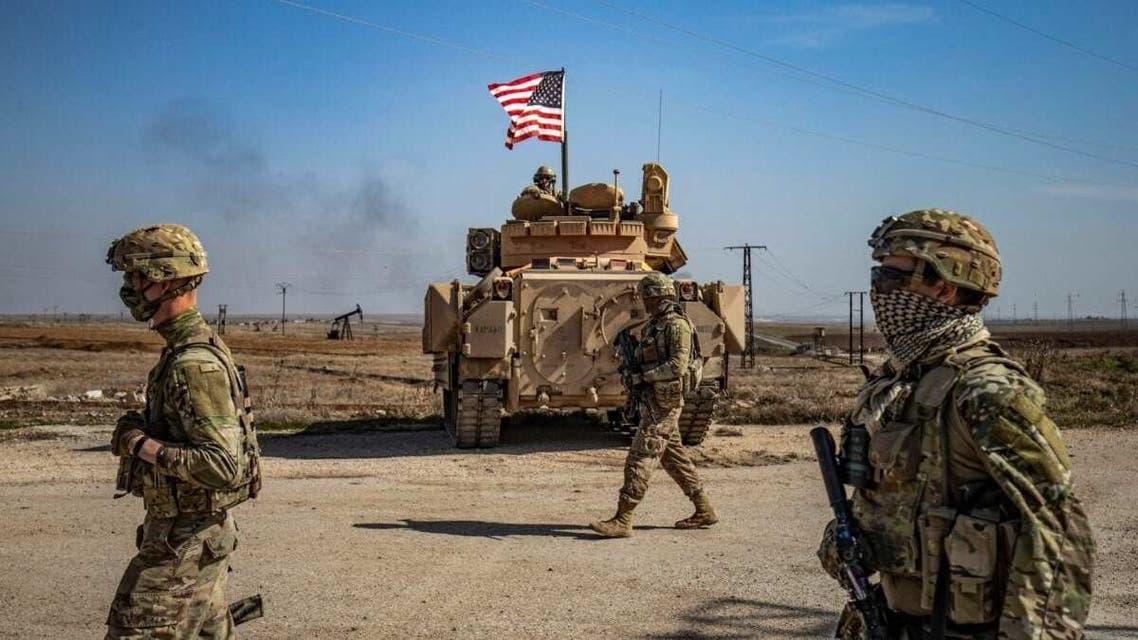 نیروهای آمریکایی در سوریه