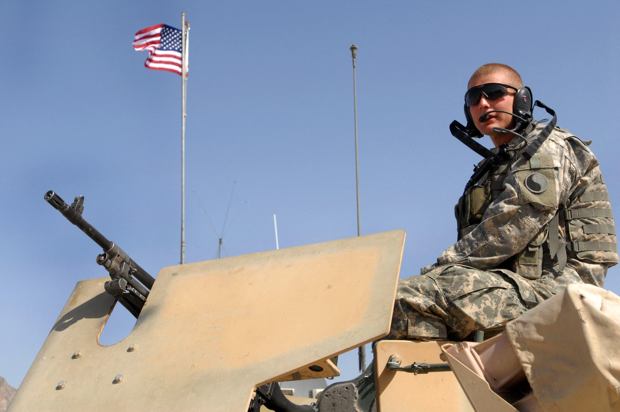 جندي أميركي ضمن قوات حلف شمال الأطلسي في أفغانستان (أرشيفية)