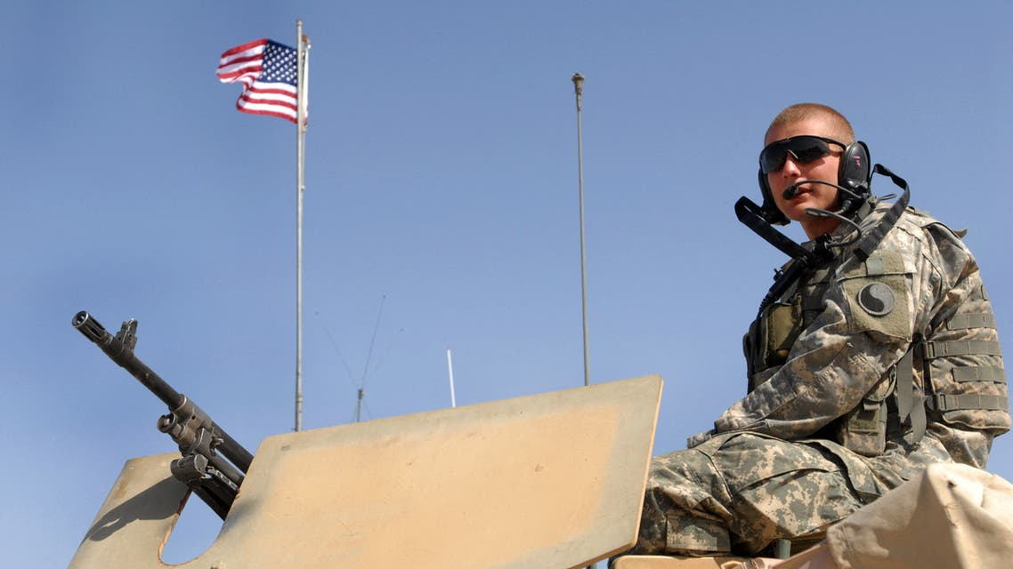 A US soldier with the NATO-led International Security Assistance Force (ISAF) patrols in Farah province of Afghanistan. (File Photo: AP)
