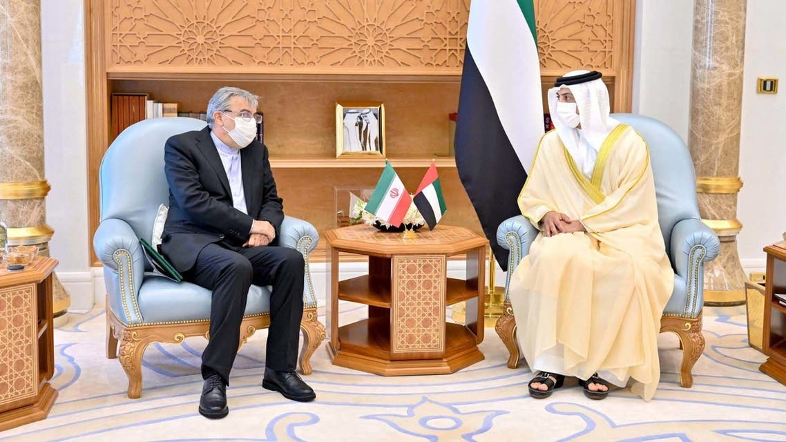 UAE's deputy PM meets with Iran's envoy in Abu Dhabi to discuss cooperation