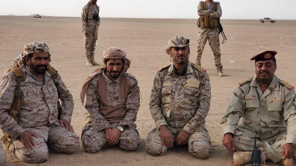 رئيس أركان الجيش اليمني قائد العمليات المشتركة الفريق الركن صغير بن عزيز خلال زيارة تفقدية قام بها الثلاثاء إلى المنطقة العسكرية السادسة