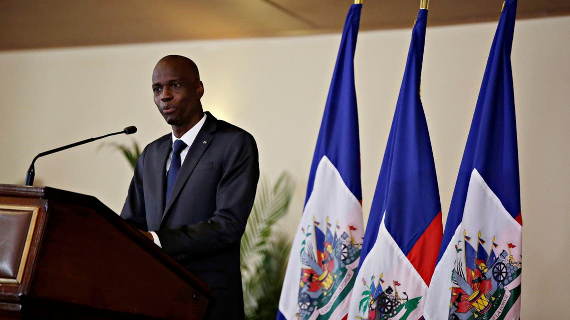 Haiti's President Moise speaks during the investiture ceremony of the independent advisory committee for the drafting of the new constitution at the National Palace in Port-au-Prince. (File photo: Reuters)