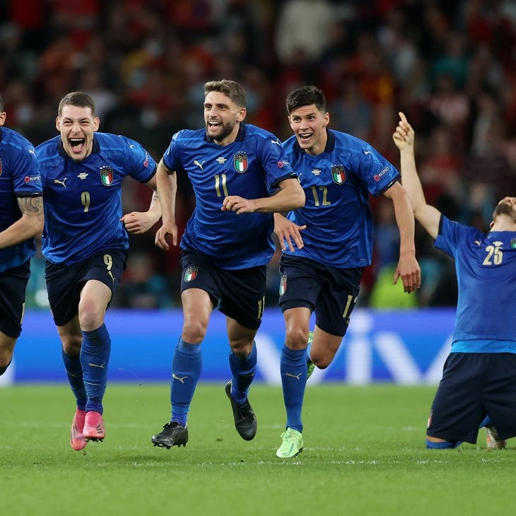 Italy hold nerve to beat Spain on penalties and reach Euro 2020 final