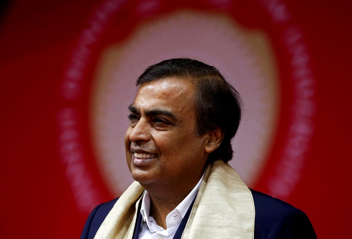 Mukesh Ambani, Chairman and Managing Director of Reliance Industries, attends a convocation at the Pandit Deendayal Petroleum University in Gandhinagar, India. (Reuters)