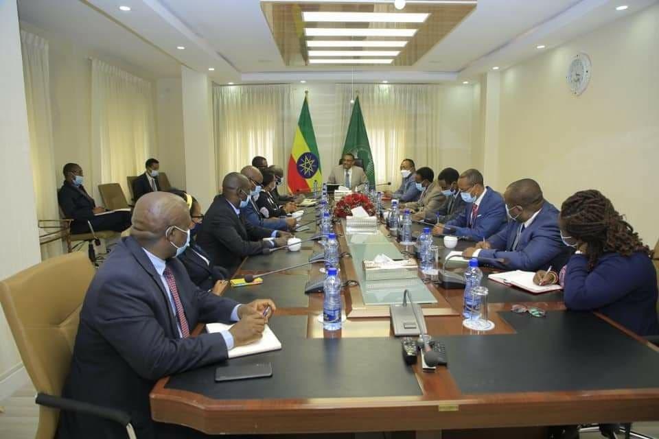وزير الخارجية الإثيوبية ميكونين