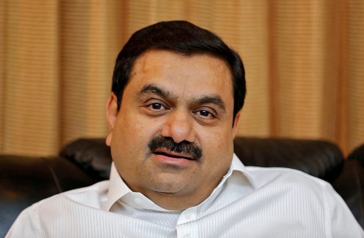 Indian billionaire Gautam Adani speaks during an interview with Reuters at his office in the western Indian city of Ahmedabad. (Reuters)
