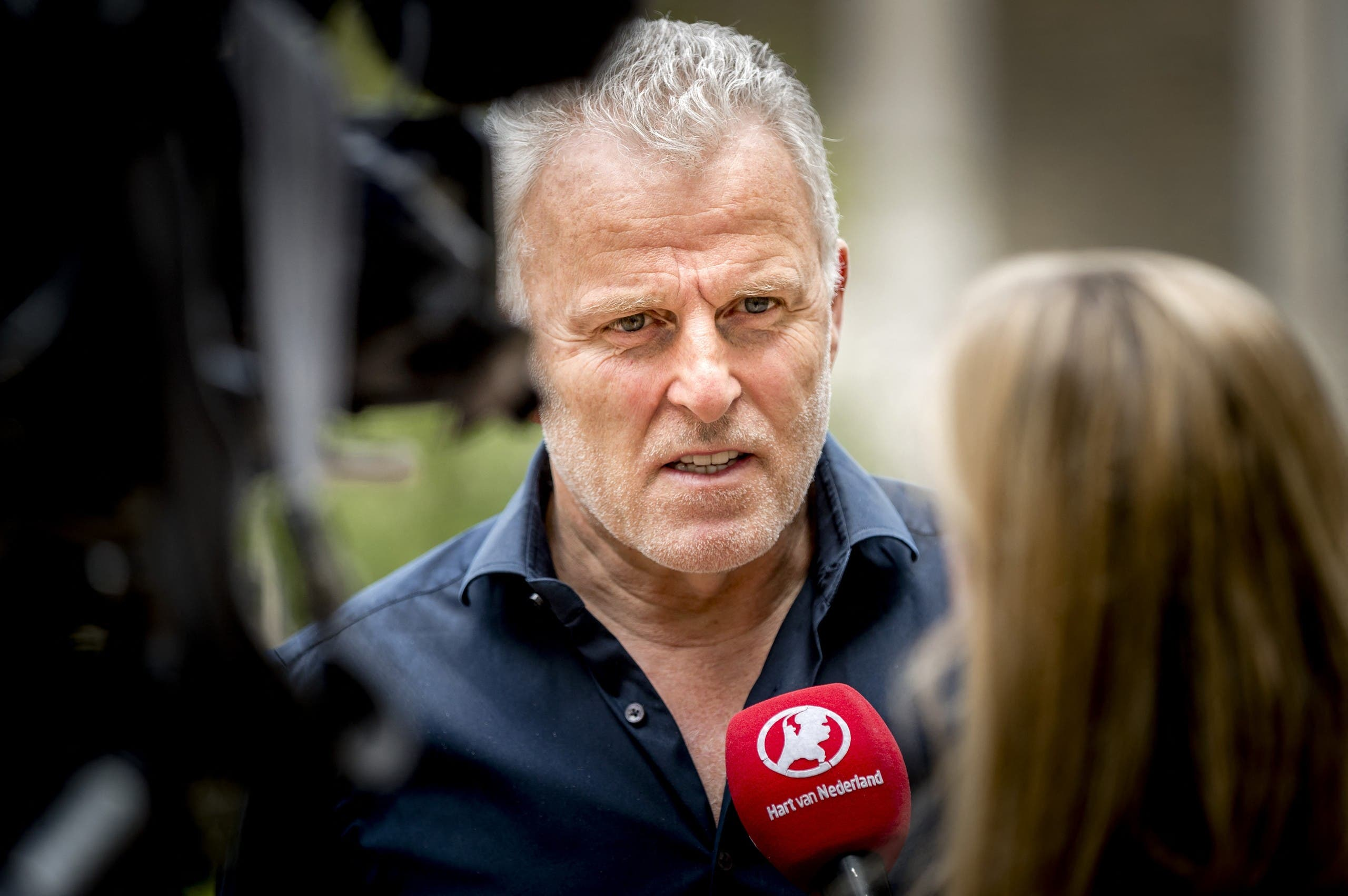 Peter R. de Vries, a journalist and TV presenter, was seriously wounded in a shooting on July 6, 2021. (File photo: AFP)