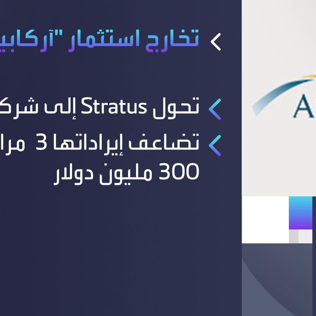 """""""آركابيتا"""" تتخارج من استثمارها في شركة """"ستراتوس"""" بـ450 مليون دولار"""