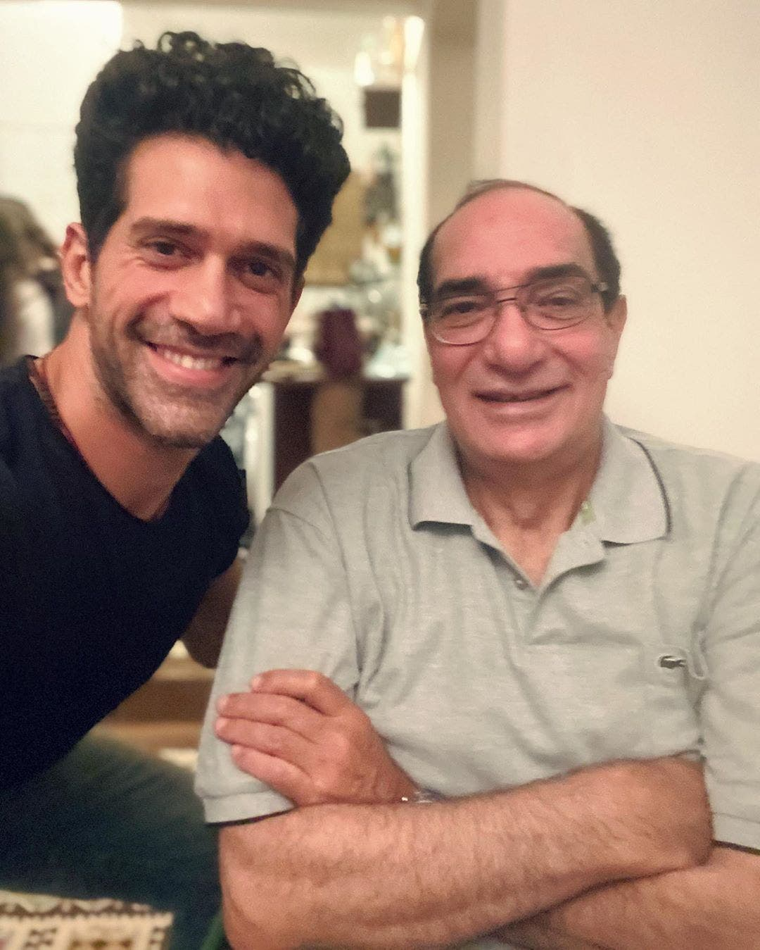 أحمد مجدي ووالده
